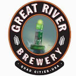 Logo for Great River Brewery