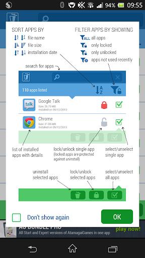 QuickApp Uninstall