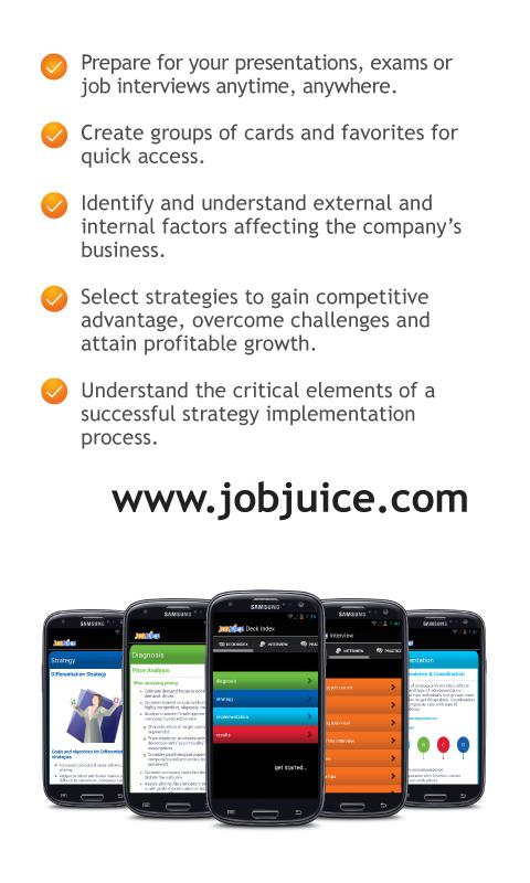 Strategy & Consulting Jobjuice- screenshot