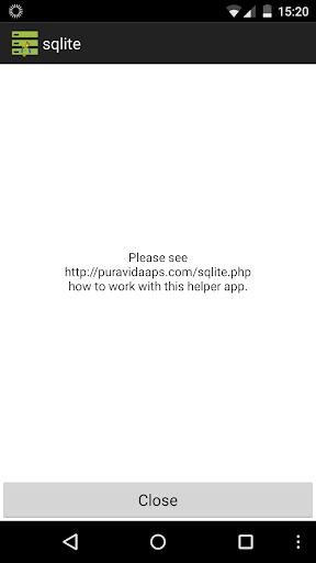 玩工具App|SQLite helper for App Inventor免費|APP試玩
