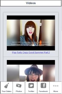 Carly Rae Jepsen Zone - screenshot thumbnail