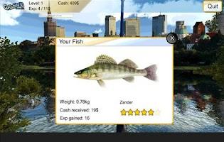 Screenshot of GoFishing3d