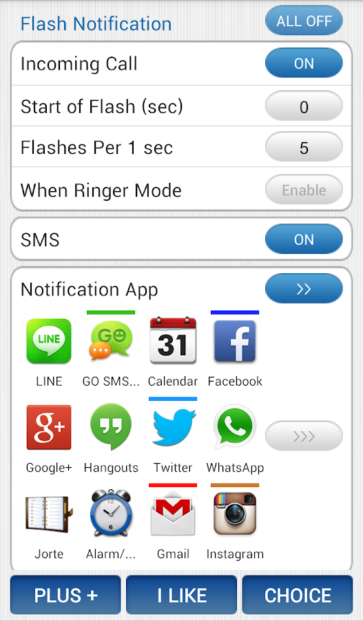 Flash Notification for All App - screenshot