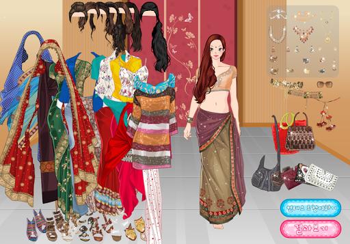 เกมส์แต่งตัวชุดอินเดีย