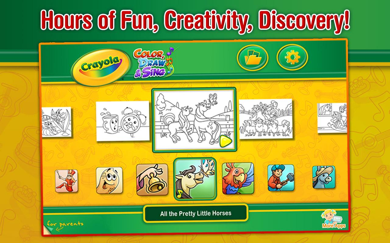 Crayola Color, Draw & Sing - Android Apps on Google Play