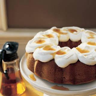 Maple Bundt Cake.