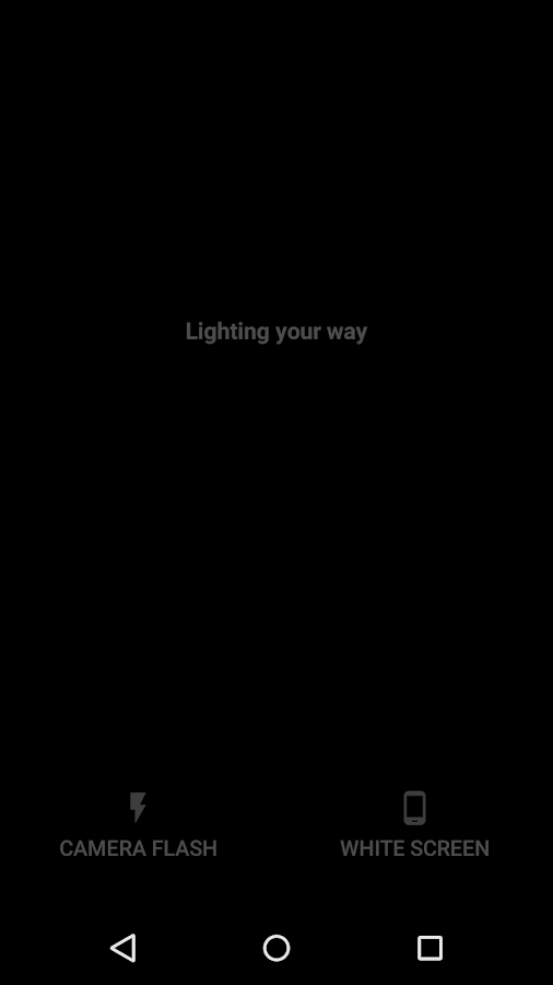 Light (no strange permissions)- screenshot