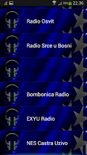 BIH Radio - Bosnian radio - screenshot thumbnail