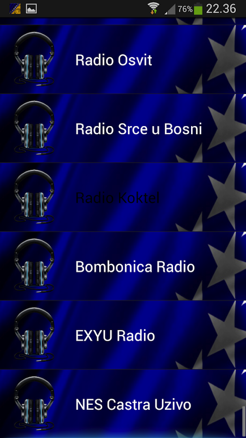 BIH Radio - Bosnian radio - screenshot