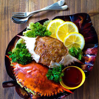 Stuffed Crabs or Tortang Alimasag.