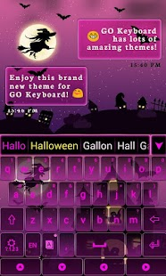 Pink-Halloween-Keyboard-Theme 1