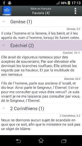Bible en franu00e7ais Louis Segond  screenshots 2