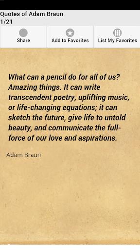 Quotes of Adam Braun