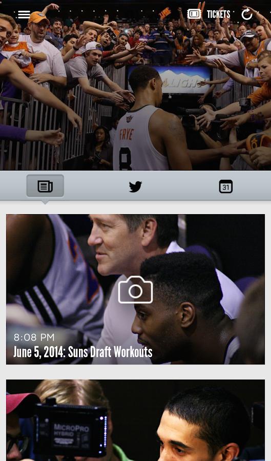 Phoenix Suns Mobile- screenshot