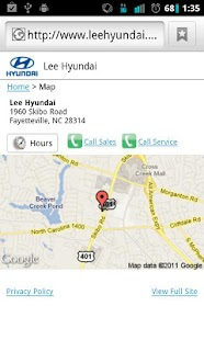 Lee Hyundai - screenshot thumbnail