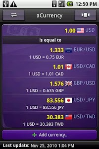 aCurrency Pro (exchange rate) v4.77