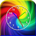 Rainbow Clock icon