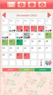 Ovulation & Period Calendar - screenshot thumbnail