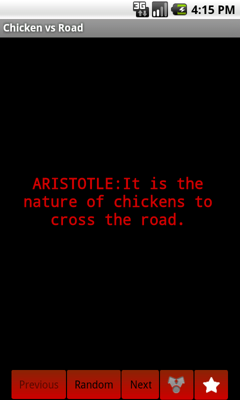 Chicken vs Road - screenshot