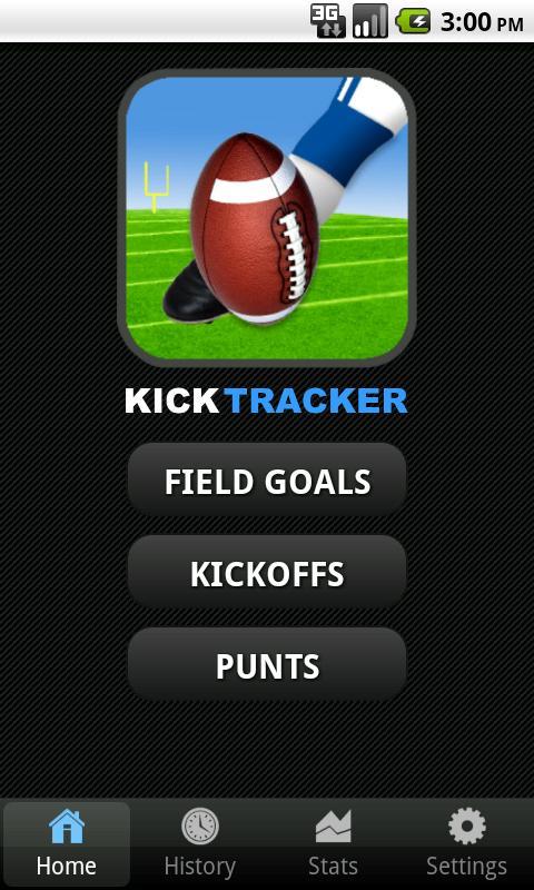 Kick Tracker- screenshot