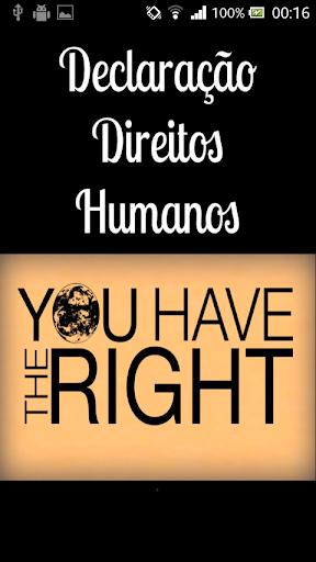 Declaração Direitos Humanos