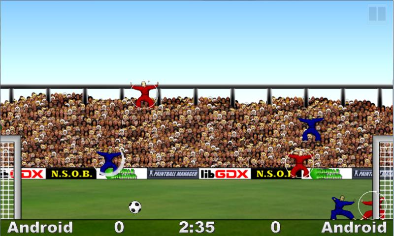 Kung Fu Soccer - screenshot
