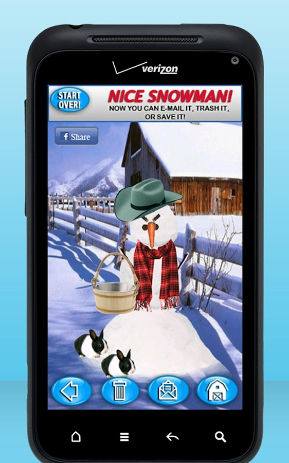 Snowman Maker - screenshot