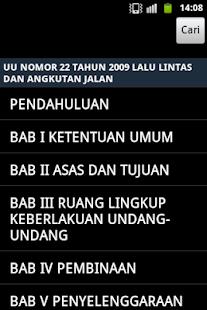 Undang - Undang Lalu lintas - screenshot thumbnail