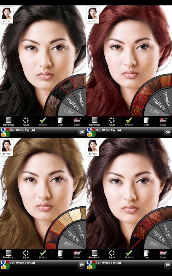 Hair Color - screenshot