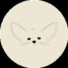 Cute fox (flashlight) icon