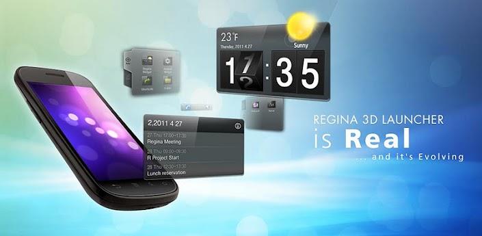 Regina 3D Launcher Pro