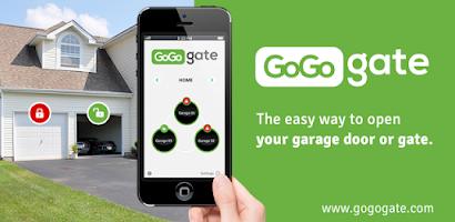 Gogogate open garage door android app on appbrain for App to open garage door