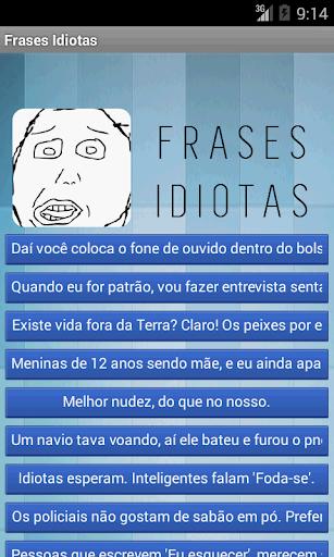 Frases Idiotas