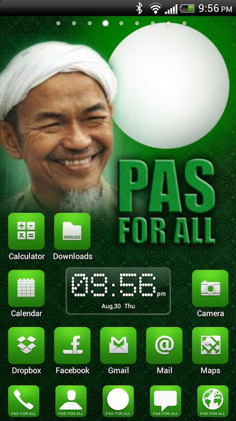 PAS Theme For Android - screenshot