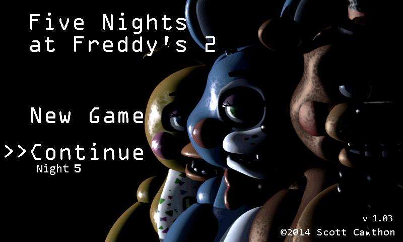 Screenshots of Five Nights at Freddy's 2 Demo for Android