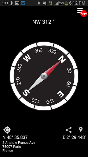 Smart Compass Pro APK v. 2.6.0 - Getapk - Your Source for Android Apps