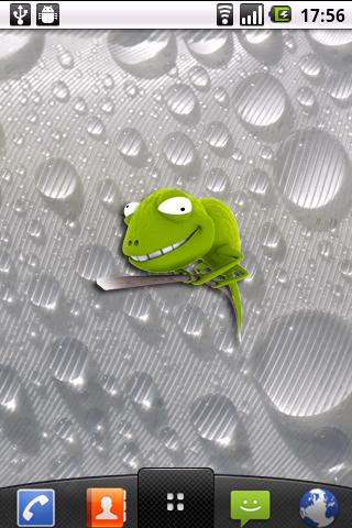 3D Chameleon cool sticker - screenshot