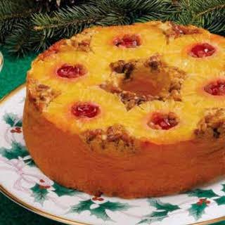 Upside Down Pineapple Cake.