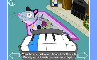 Screenshot of Mrs Sprat Next Doors Cat