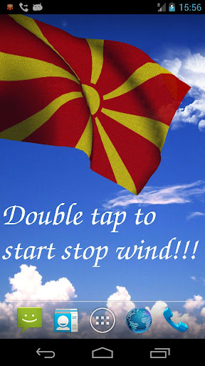 3D Macedonia Flag LWP +