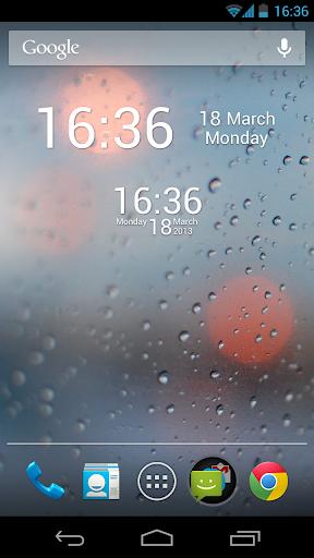 Simple Digital Clock Donate