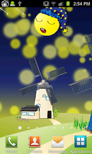 Cartoon Windmill LiveWallpaper - náhled