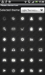 Light GO Launcher EX Theme - screenshot thumbnail