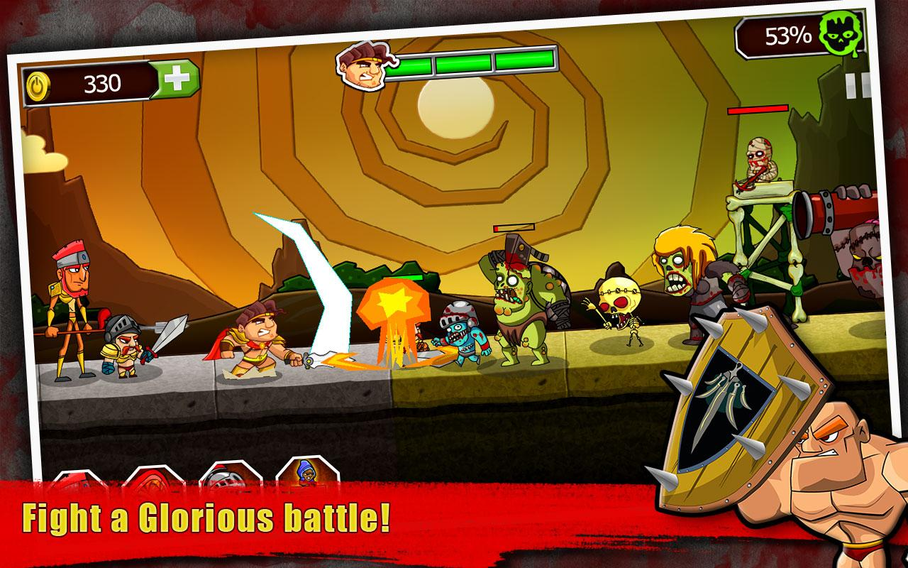 Legend vs Zombies- screenshot
