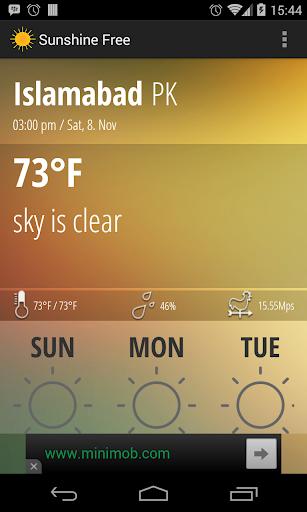【免費天氣App】Sunshine-APP點子