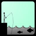 Fishing Stickman[Fishing game] icon