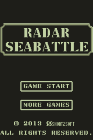 Radar Sea Battle- screenshot