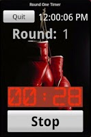 Screenshot of Round One Timer