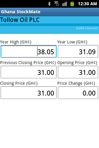 Ghana StockMate- screenshot