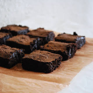 Classic Chewy Brownies.